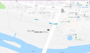 練習日 @ 新橋右岸下流広場
